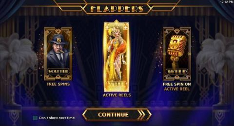 Flappers Fun Slots by StakeLogic with 5 Reel and 20 Line