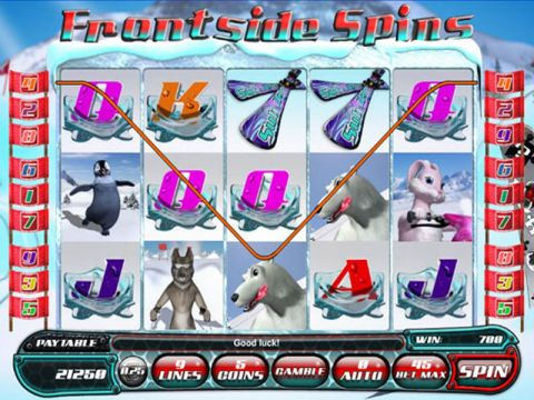 Frontside Spins Fun Slots by Saucify with 5 Reel and 9 Line