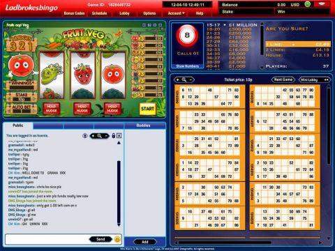 Fruit and Veg Mini Fun Slots by Virtue Fusion with 3 Reel and 1 Line