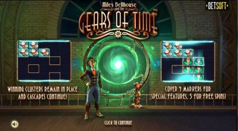 Gears of Time Fun Slots by BetSoft with 5 Reel and