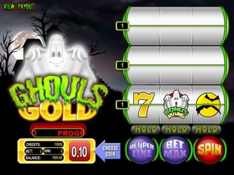 Ghouls Gold Fun Slots by BetSoft with 9 Reel and 3 Line