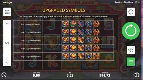 Goddes of the Moon Fun Slots by Booongo with 5 Reel and 243 Line