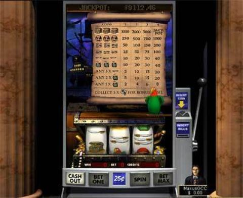 Gold Pirates Fun Slots by Boss Media with 3 Reel and 1 Line
