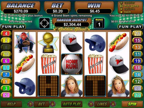 Golden Glove Fun Slots by RTG with 5 Reel and 20 Line