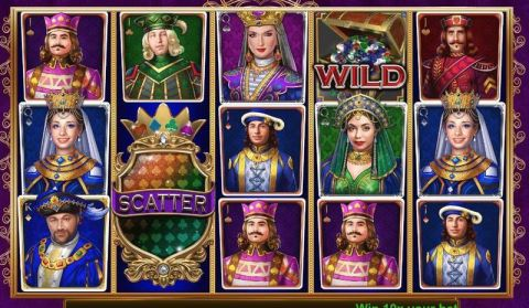 Golden Royals Fun Slots by Booming Games with 5 Reel and 30 Line