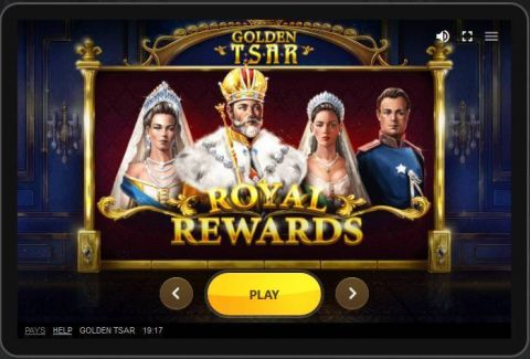 Golden Tsar Fun Slots by Red Tiger Gaming with 6 Reel and 30 Line