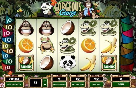 Gorgeous George Fun Slots by Parlay with 5 Reel and 9 Line