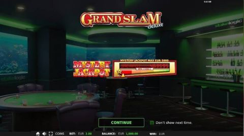 Grand Slam Deluxe Fun Slots by StakeLogic with 5 Reel and 9 Line