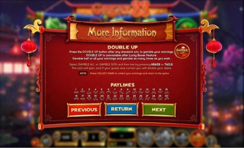 GREAT 88 Fun Slots by BetSoft with 5 Reel and 30 Line