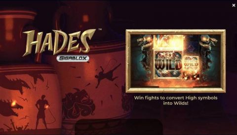 Hades Fun Slots by Yggdrasil with 5 Reel and 50 Line
