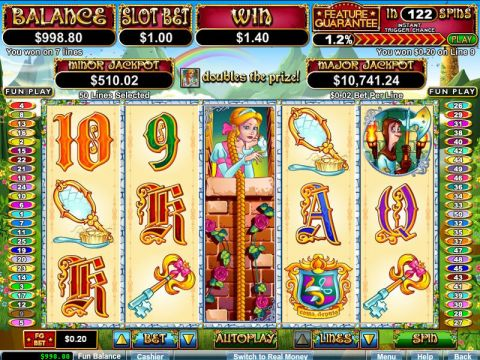 Hairway to Heaven Fun Slots by RTG with 5 Reel and 50 Line
