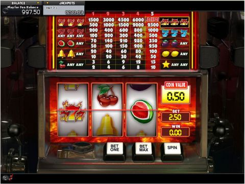 Hot 7's Fun Slots by GamesOS with 3 Reel and 1 Line