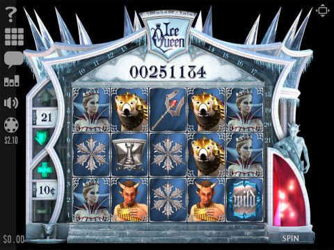 Ice Queen Fun Slots by Slotland Software with 5 Reel and 21 Line