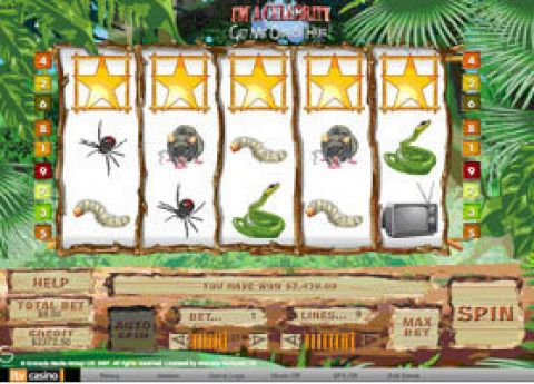 I'm a Celebrity, Get Me Out Of Here Fun Slots by iGlobal Media with 5 Reel and 9 Line