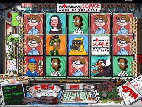 Intensive Scare Fun Slots by bwin.party with 5 Reel and 50 Line
