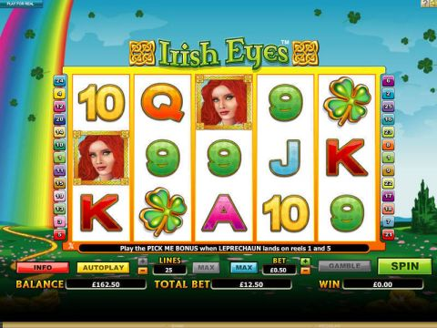 Irish Eyes Fun Slots by Microgaming with 5 Reel and 20 Line