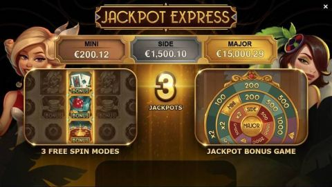Jackpot Express Fun Slots by Yggdrasil with 5 Reel and 20 Line
