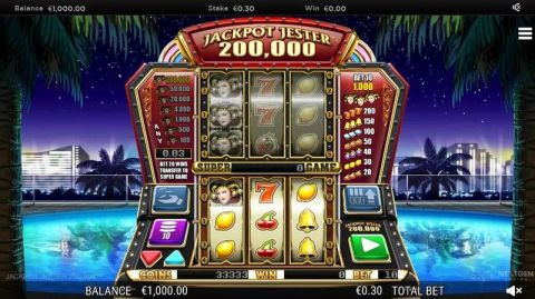 Jackpot Jester 200000 Fun Slots by NextGen Gaming with 3 Reel and 5 Line