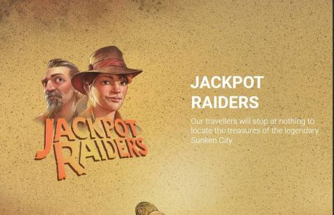 Jackpot Raiders Fun Slots by Yggdrasil with 5 Reel and 20 Line