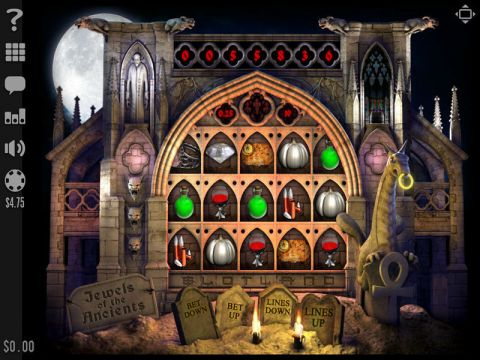 Jewels of the Ancients Fun Slots by Slotland Software with 5 Reel and 19 Line