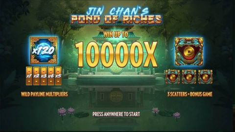 Jin Chan´s Pond of Riches Fun Slots by Thunderkick with 5 Reel and 15 Line