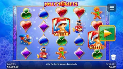 Jolly's Gifts Fun Slots by Side City with 5 Reel and 40 Line