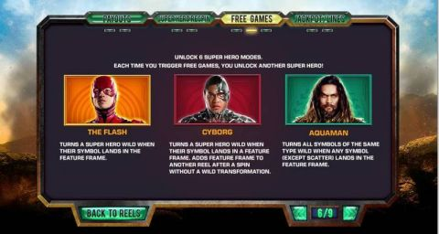Justice League Fun Slots by PlayTech with 5 Reel and 40 Line