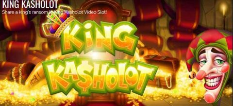 King Kasholot Fun Slots by Rival with 5 Reel and 25 Line