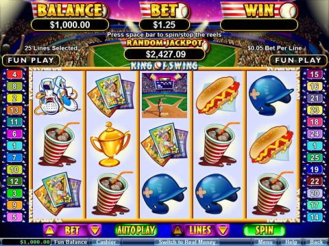 King of Swing Fun Slots by RTG with 5 Reel and 25 Line
