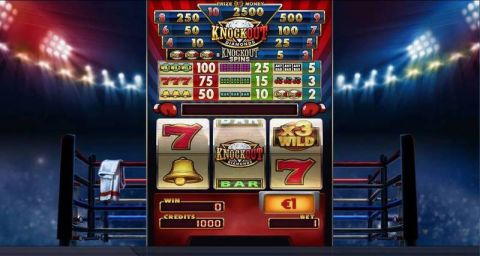 Knockout Diamonds Fun Slots by Elk Studios with 3 Reel and 1 Line
