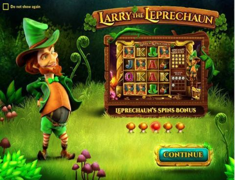 Larry the Leprechaun Fun Slots by Wazdan with 4 Reel and
