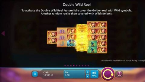 Legend of Cleopatra Fun Slots by Playson with 5 Reel and 100 Line