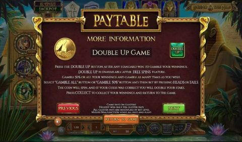 Legend of the Nile Fun Slots by BetSoft with 6 Reel and 30 Line