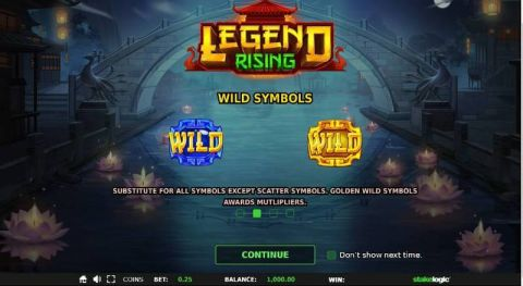 Legend Rising Fun Slots by StakeLogic with 5 Reel and 576 Line