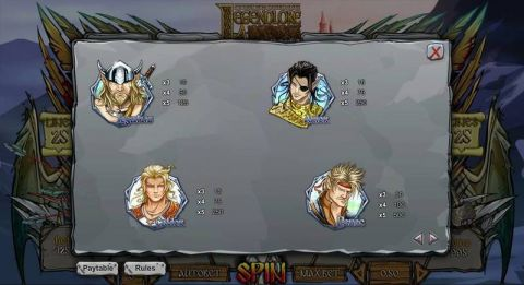 Legendlore Fun Slots by 1x2 Gaming with 5 Reel and 25 Line