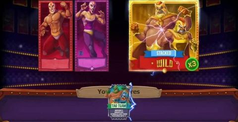 Lucha Maniacs Fun Slots by Yggdrasil with 5 Reel and 20 Line