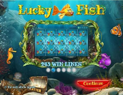 Lucky Fish Fun Slots by Wazdan with 5 Reel and 243 Line