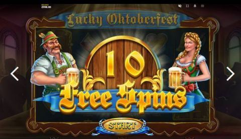 Lucky Oktoberfest Fun Slots by Red Tiger Gaming with 5 Reel and 10 Line