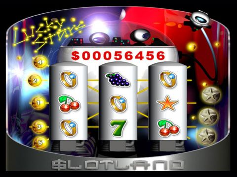 Lucky Stars Fun Slots by Slotland Software with 3 Reel and 5 Line