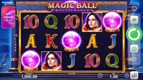 Magic Ball Multichance Fun Slots by Booongo with 5 Reel and 10 Line