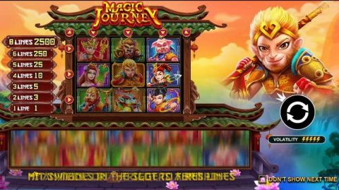 Magic Journey Fun Slots by Pragmatic Play with 3 Reel and 8 Line