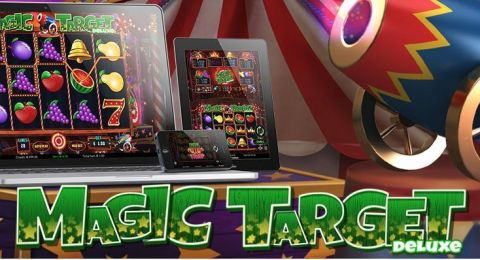 Magic Target Deluxe Fun Slots by Wazdan with 5 Reel and 20 Line