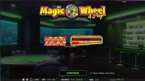 Magic Wheel 4 Player Fun Slots by StakeLogic with 3 Reel and 25 Line