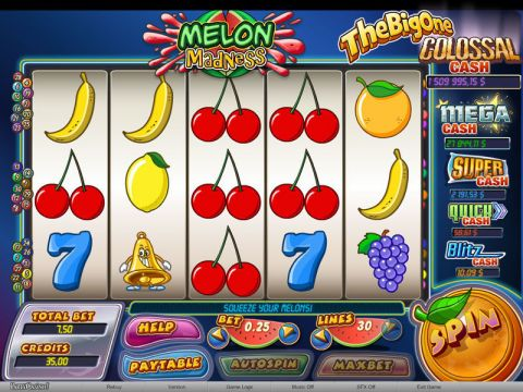 Melon Madness Fun Slots by bwin.party with 5 Reel and 30 Line