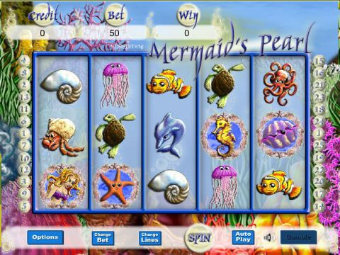 Mermaid Magic Fun Slots by Player Preferred with 5 Reel and 25 Line
