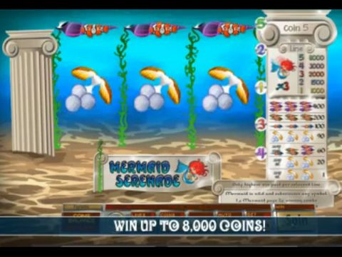 Mermaid Serenade Fun Slots by Saucify with 3 Reel and 5 Line