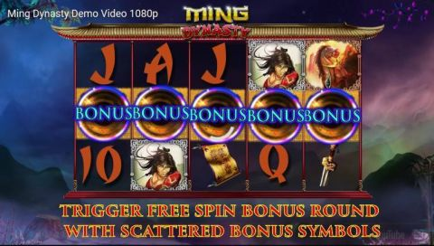 Ming Dynasty Fun Slots by 2 by 2 Gaming with 5 Reel and