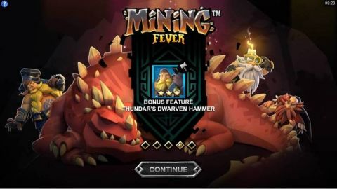 Mining Fever Fun Slots by Microgaming with 5 Reel and 243 Line