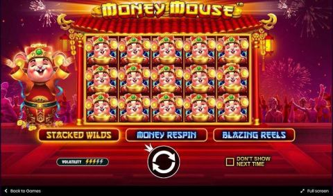 Money Mouse Fun Slots by Pragmatic Play with 5 Reel and 25 Line