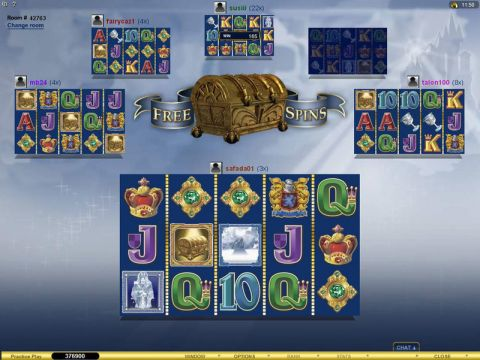 Multi-Player Avalon Fun Slots by Microgaming with 5 Reel and 20 Line